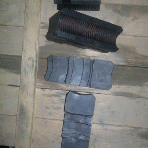 Кулачки токарного патрона диаметром 1000 мм